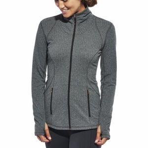 Calia herringbone athletic jacket